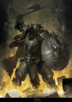 (Smash) Gaizka, Battleaxe Bearer by RuanJia