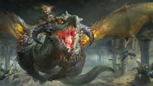 Ruan-jia-dragons by RuanJia