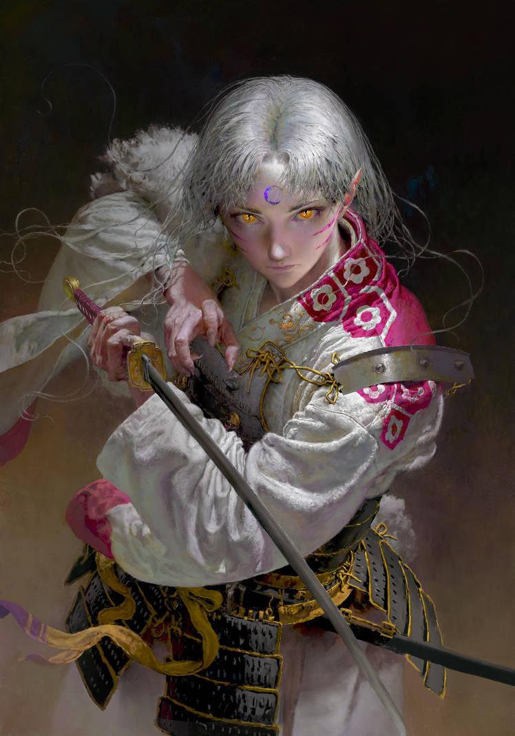 Sesshoumaru by RuanJia