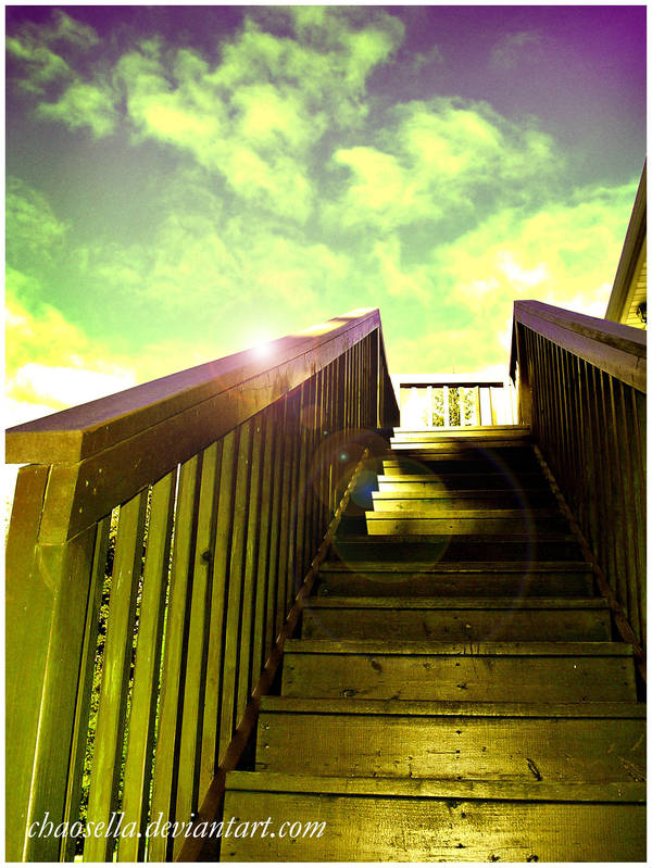 stairs to... by Chaosella