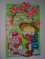 chaos cake by Chaosella