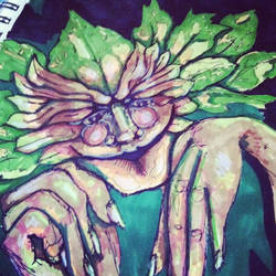 The Green Man by Chaosella