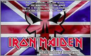 Iron Maiden: Colours Dont Run by lifegotdead