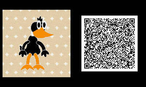 Freakyforms: Daffy Duck QR Code by nintendolover2010