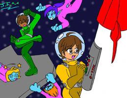 Spies in Space (Request) by NekoEmerald
