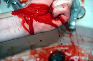 Slit Wrists by Mato56