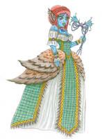 Nessarose Ghouls rule/Masquerade by Tsukiko-koe