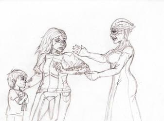 Meeting the family: chapter sneak peek by Tsukiko-koe