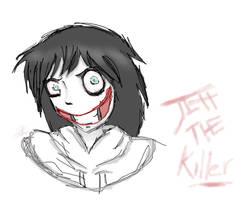Jeff The Killer by pbo-artistica