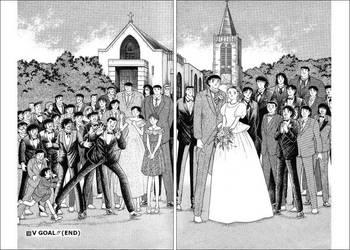 wedding of sanae and tsubasa by vb0999