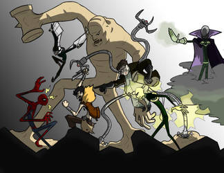 Siege of the Sinister Six by TheICombaticon