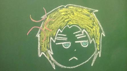 Britain chibi-chalk by Unpredictable872
