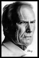 Clint Eastwood by LillaMy89