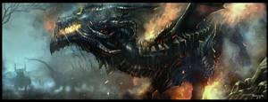Fire Dragon by thiennh2