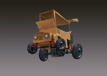 Carton box Racing Car by thiennh2