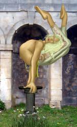 The Dancing Swan by Elysium-Arts
