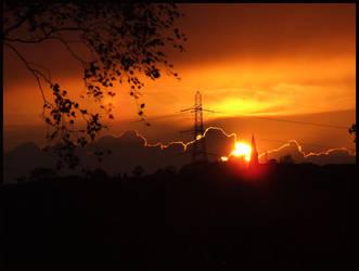 Urban Sunset by runwhileyoucan
