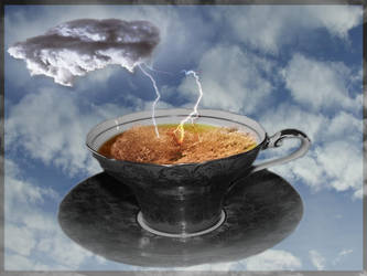 Storm in a Tea Cup by runwhileyoucan