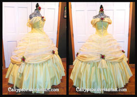 Beauty and the Beast Ball Gown by Caliypsoe