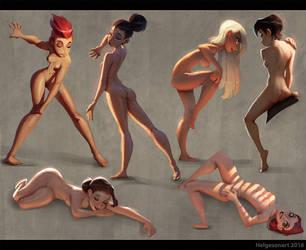 Girls ^__^ by kaktuzlime
