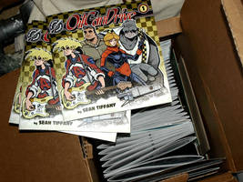 OilCan Drive Tracks #1 Printed Comic Books by OilCanDrive