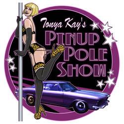 Tonya Kay's Pin-Up Pole Show by OilCanDrive