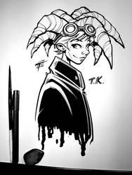 TK Inks by OilCanDrive
