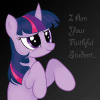 Faithful Student by martybpix