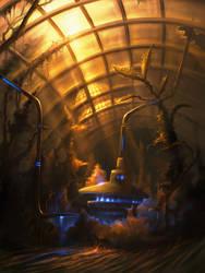 Greenhouse Inside by rmalbon