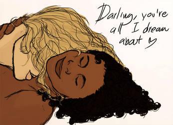 Maxine an Paula by doodle-e
