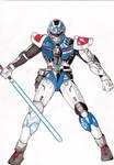 GAIRUKEN  the Metal Hero original 30th anniversary by RodrigoRainober