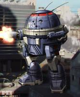 Battletech - Urbanmech by SteamPoweredMikeJ