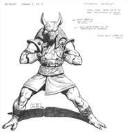 Reboot - Egypt - Anubis by SteamPoweredMikeJ