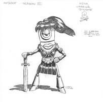 Reboot - Xena Binome by SteamPoweredMikeJ