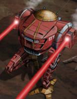 Battletech Card - Cicada by SteamPoweredMikeJ