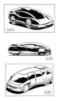 Shadowrun - Cars by SteamPoweredMikeJ