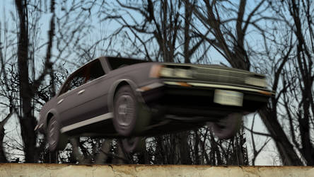 Buick Century jump by universetwisters