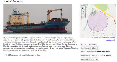 Vessel for Sale by universetwisters