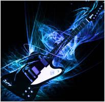 Gibson SG Firebird custom by HyoTheEvil
