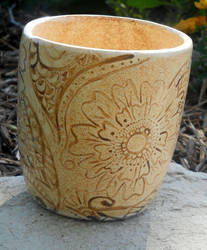 Mehndi Inspired Shino Cup by Stormphyre