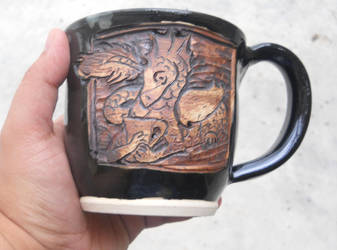 Dragon mug by Stormphyre