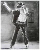 Michael Jackson BOW Drawing by DizzyEmotions