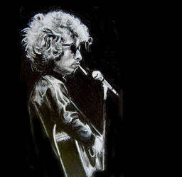Bob Dylan WIP by DizzyEmotions