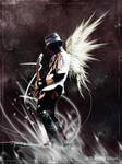 DJ Ashba with wings by CherylCAT