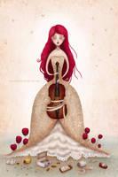 Violin by chuckometti
