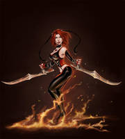 Bloodrayne finished by Dottwing