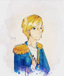 Prince Garroth by Flowerfox2012art