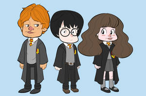 Harry Potter First Years by p-r-i-a-p-u-s