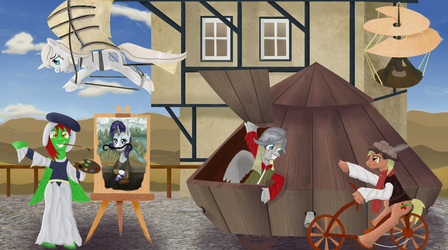 Clockpunk Ponies! by MrSpanyard