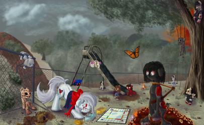 Playground, Games and Dolls by MrSpanyard
